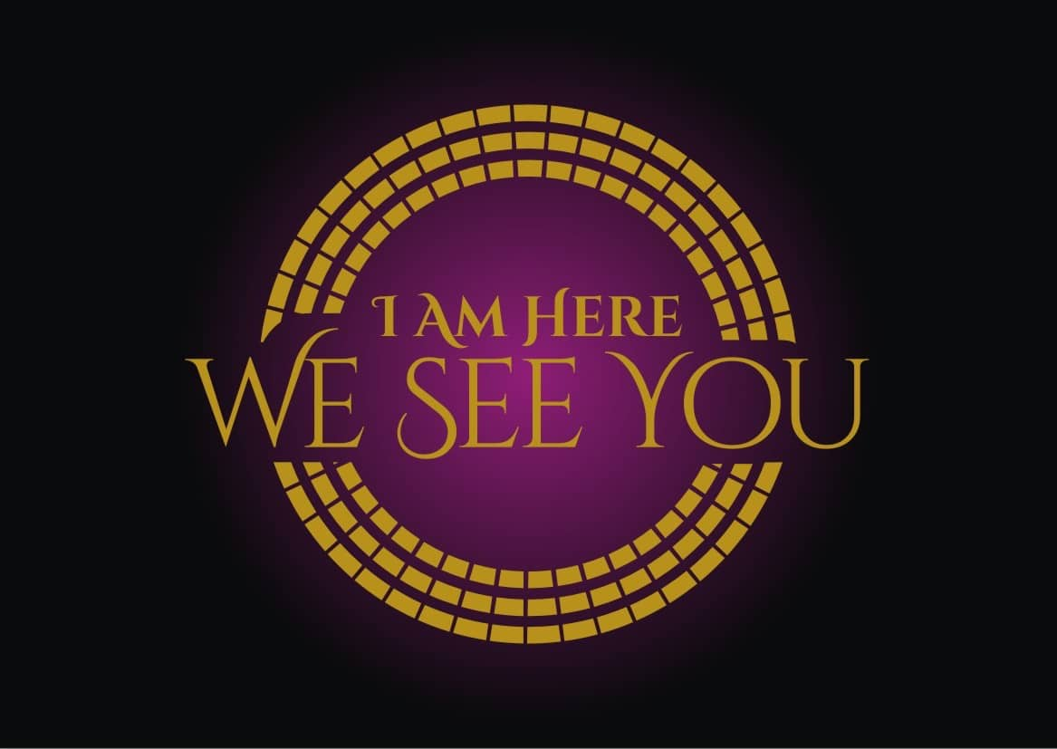 I Am Here We See You logo